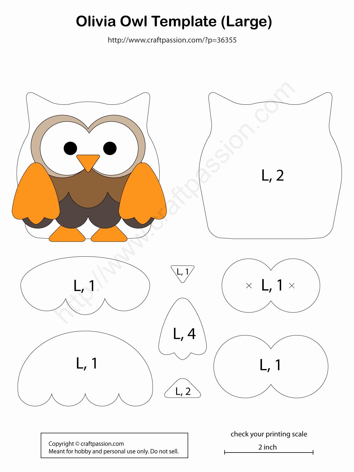 Free Printable Owl Template Best Of 1000 Bilder Zu Patchwork Auf Pinterest