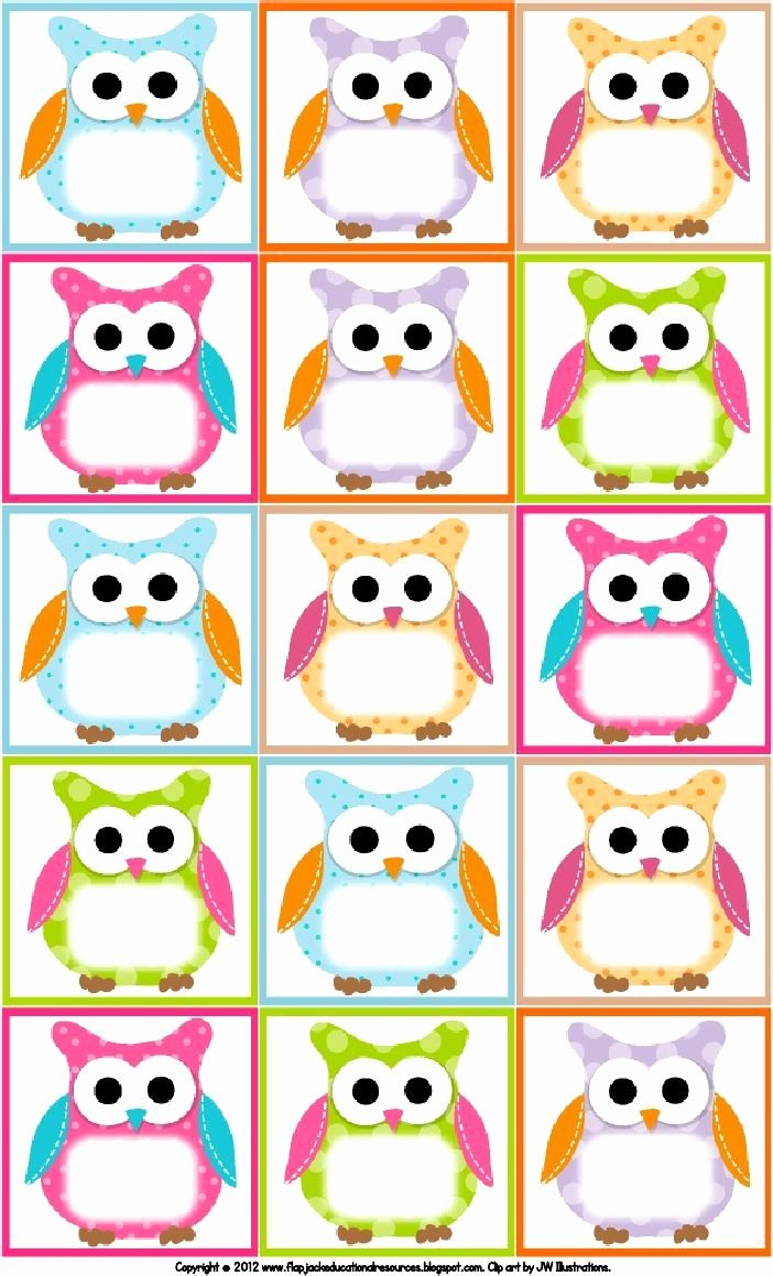Free Printable Owl Template New Free Owl Printables Free Printable Owl Labels