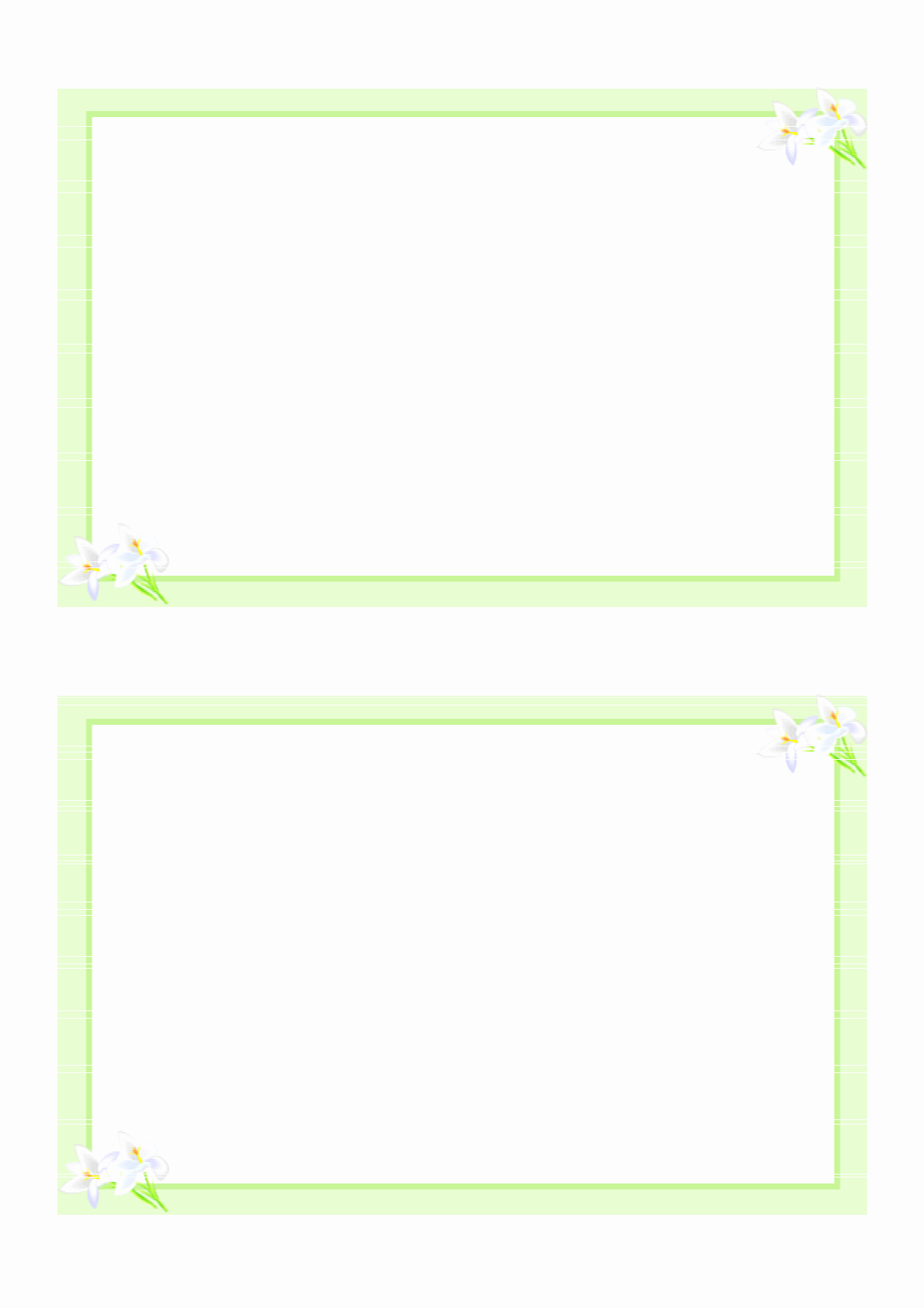 Free Printable Postcard Template Best Of 8 Best Of Printable Blank Pledge Card Templates