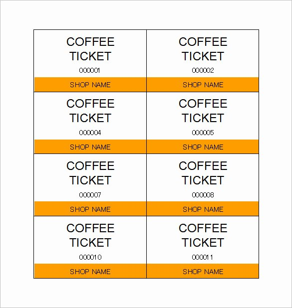 Free Printable Ticket Stub Template Beautiful Alluring Template for Tickets with Stubs Ticketcreator