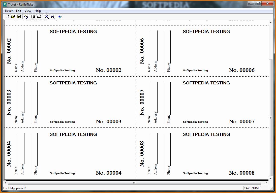 Free Printable Ticket Stub Template Inspirational Raffle Stub Template Choice Image Template Design Ideas