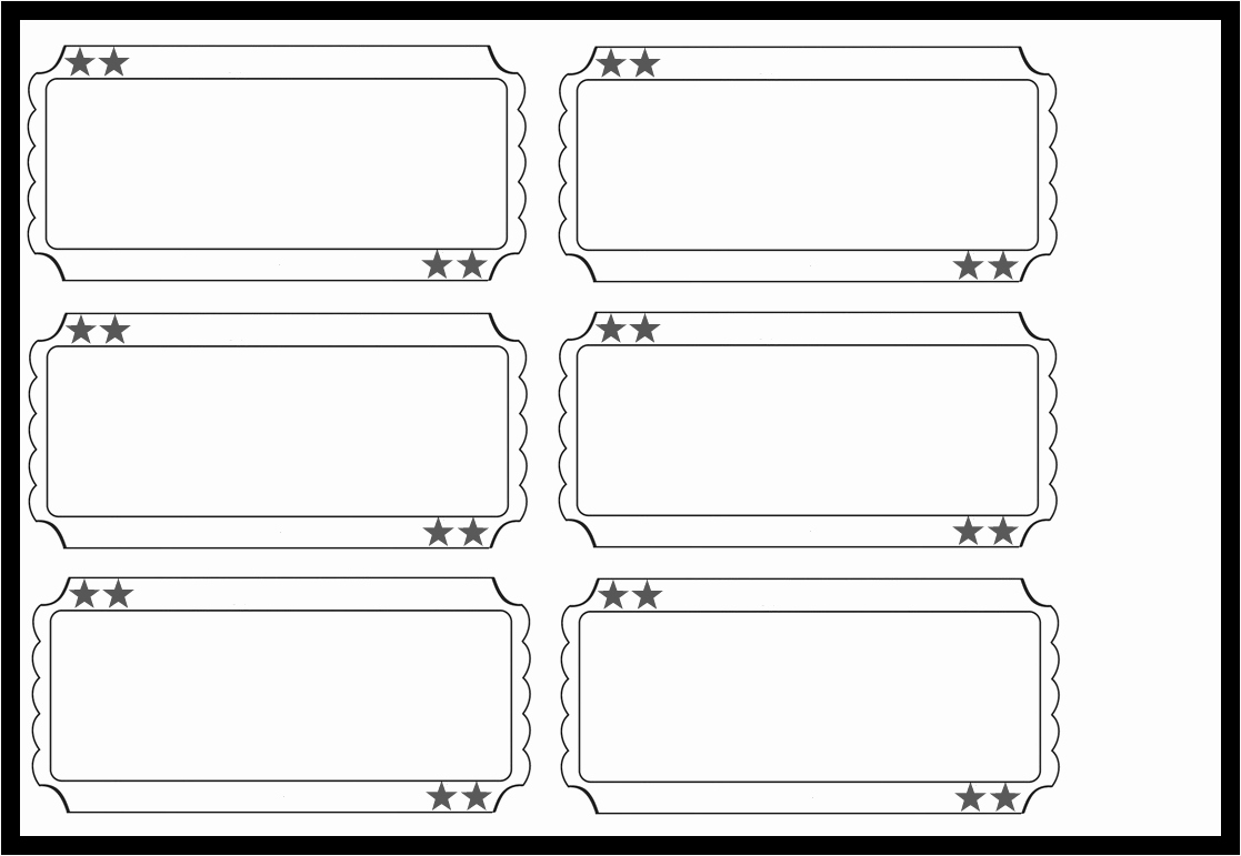 Free Printable Tickets Template Best Of Admit E Template Example Mughals