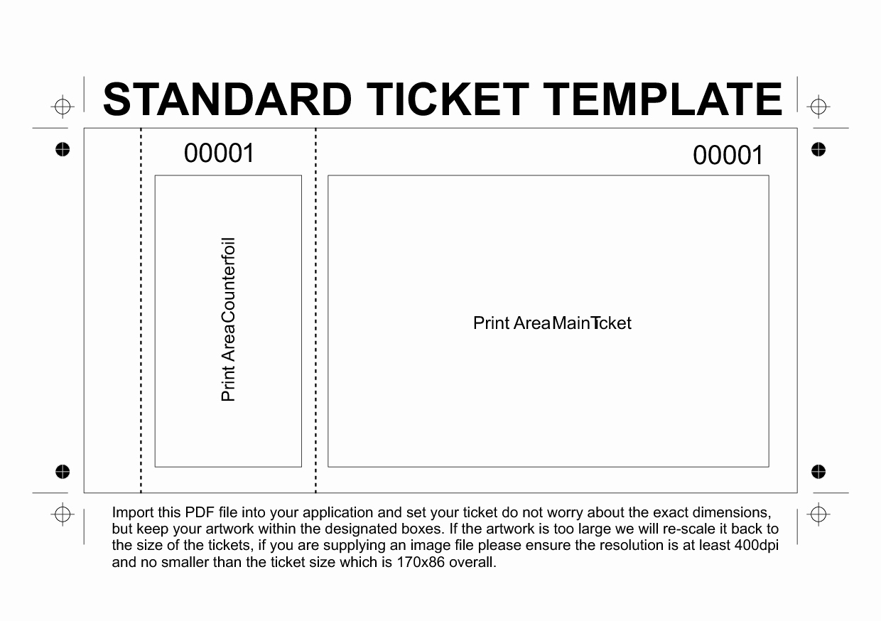 Free Printable Tickets Template Elegant Template Printable Gallery Category Page 104