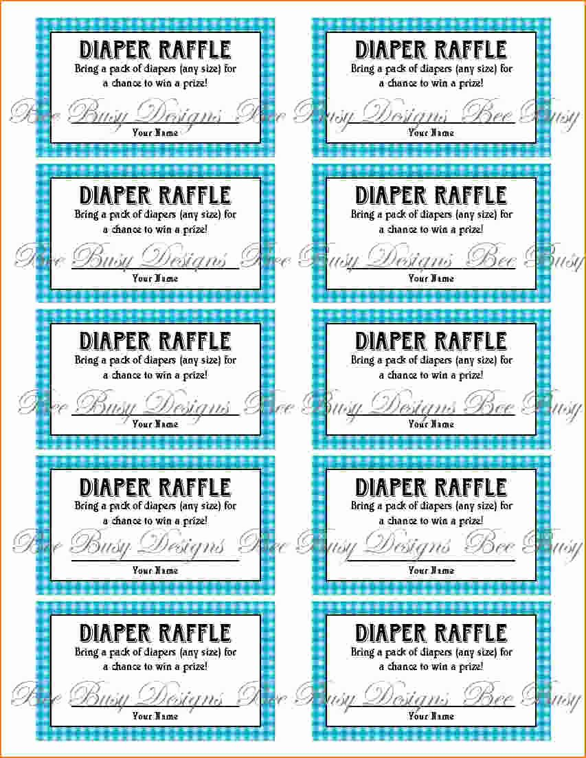 Free Printable Tickets Template New 4 Printable Raffle Tickets