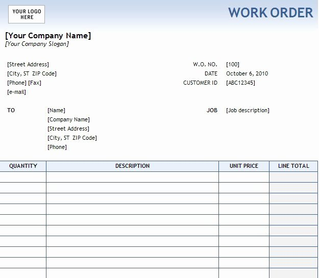 Free Printable Work order Template New Elsevier social Sciences Education Redefined