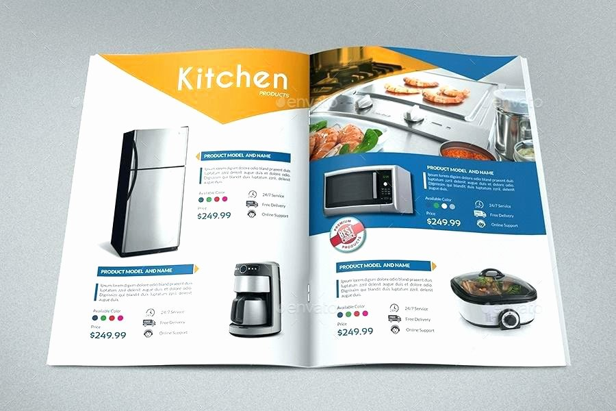 Free Product Catalog Template Inspirational Catalog Template Free Product Psd Flyer – Flybymedia