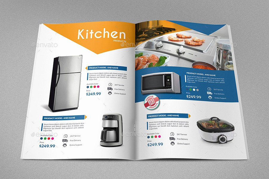 Free Product Catalog Template Lovely Products Catalog Brochure Template Vol2 24 Pages by