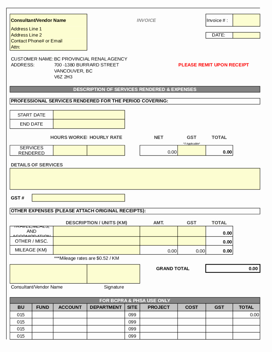 Free Proforma Invoice Template Best Of 2019 Proforma Invoice Fillable Printable Pdf & forms
