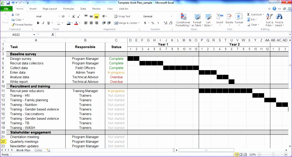Free Project Schedule Template Awesome 14 Free Project Plan Template Excel Exceltemplates