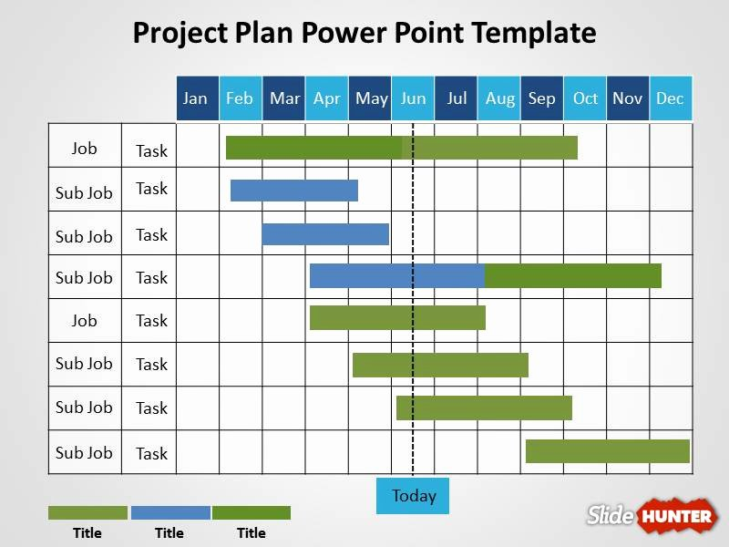 Free Project Schedule Template Best Of Free Project Plan Powerpoint Template