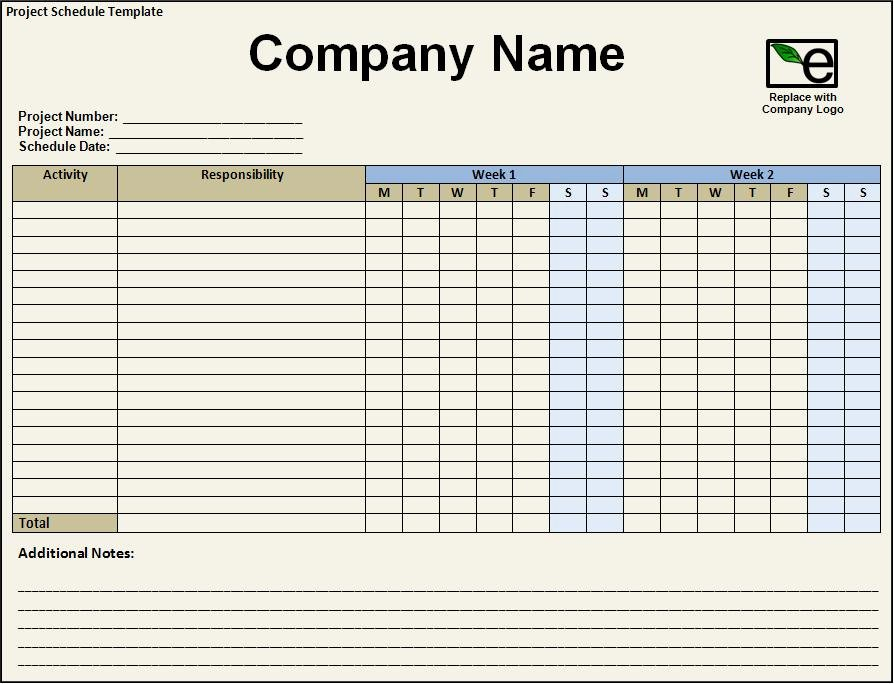 Free Project Schedule Template Fresh 5 Free Project Schedule Templates Excel Pdf formats