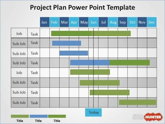 Free Project Schedule Template Lovely Action Plan Powerpoint Template Free – Playitaway