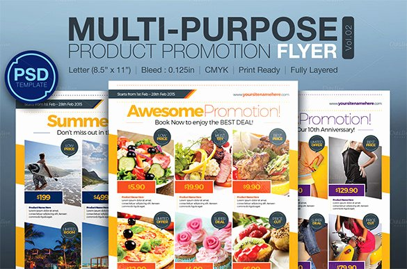 Free Promotional Flyers Template Beautiful 17 Popular Psd Promotional Flyer Templates