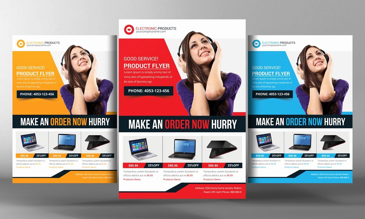 Free Promotional Flyers Template Beautiful Product Promotion Flyer Template Flyer Templates