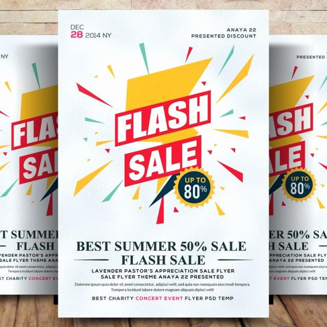 Free Promotional Flyers Template Beautiful Sales Promotion Flyer Psd Template for Free Download On