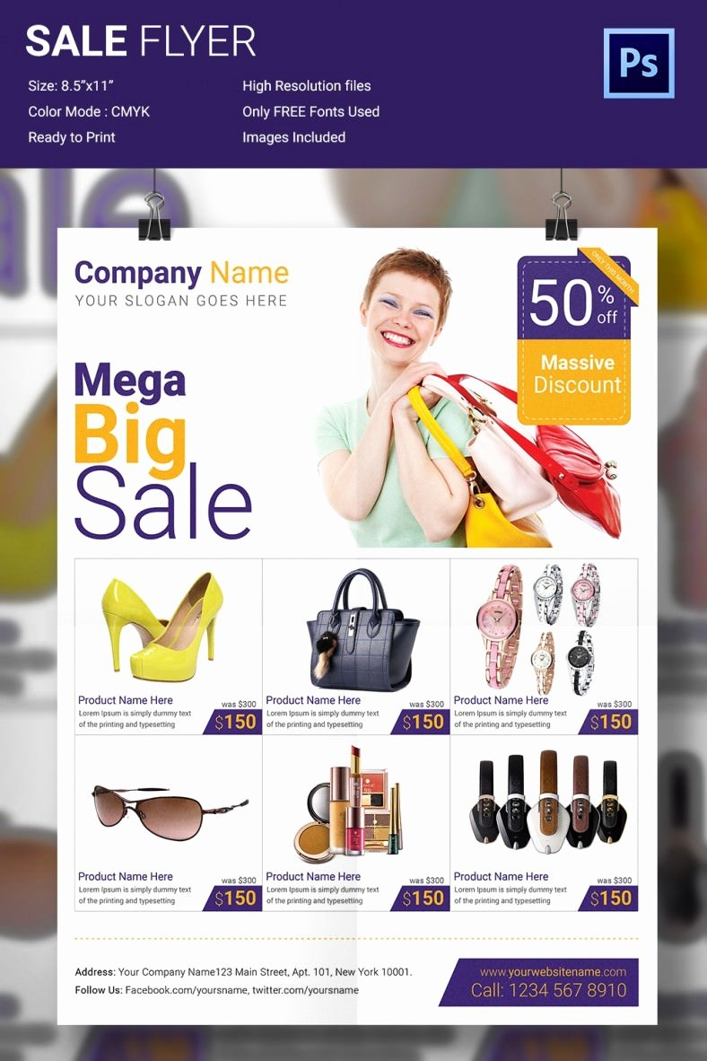 Free Promotional Flyers Template Best Of 15 Modern Psd Advertising Flyer Templates