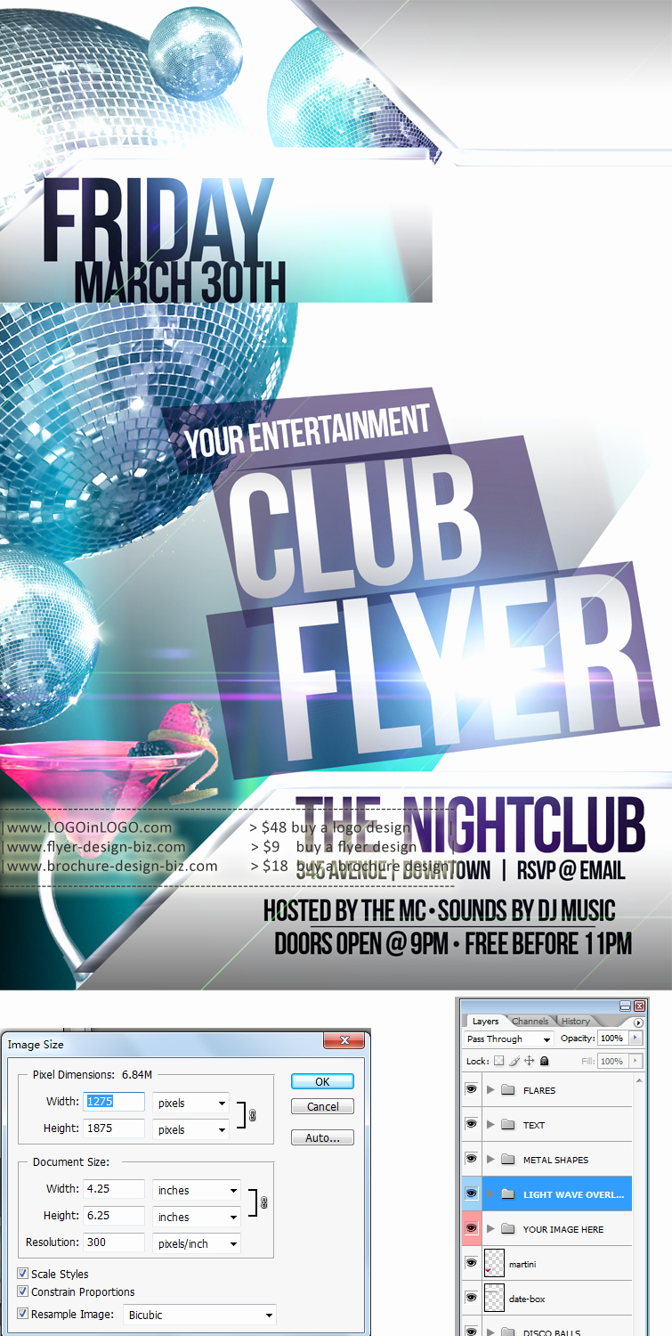 Free Promotional Flyers Template Lovely 9 Best Of Flyer Design Templates Free Advertising