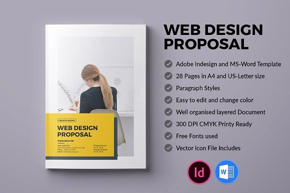 Free Proposal Template Indesign Awesome 20 Creative Business Proposal Templates You Won T Believe