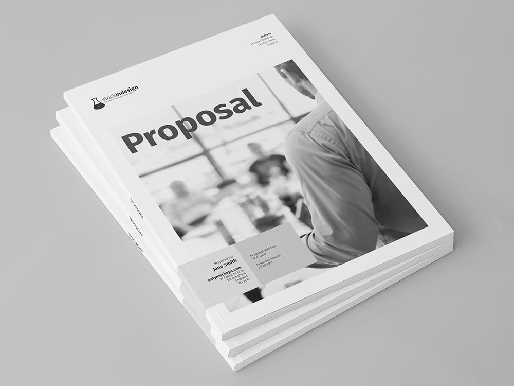 Free Proposal Template Indesign Best Of Proposal Template for Adobe Indesign