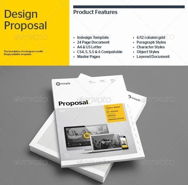 Free Proposal Template Indesign Elegant 48 Best Business Proposal Templates In Indesign Psd & Ms