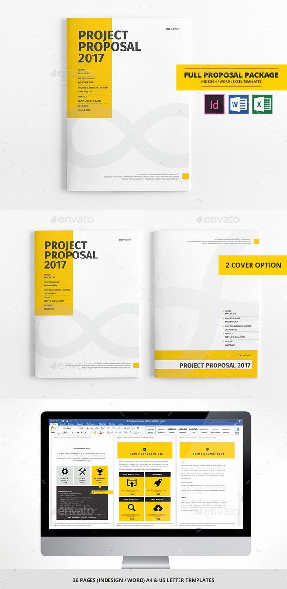Free Proposal Template Indesign Fresh How to Customize A Simple Business Proposal Template In Ms