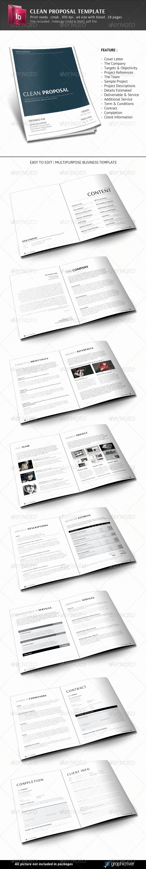 Free Proposal Template Indesign Fresh This is A Business Proposal Templete Created Using