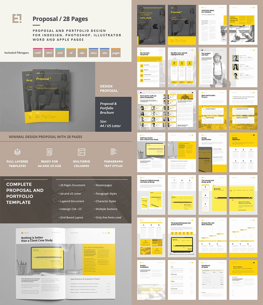 Free Proposal Template Indesign Lovely 20 Best Business Proposal Templates Ideas for New Client