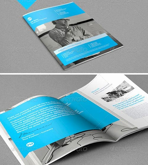 Free Proposal Template Indesign Lovely 30 Inspiring Brochure Templates 2013