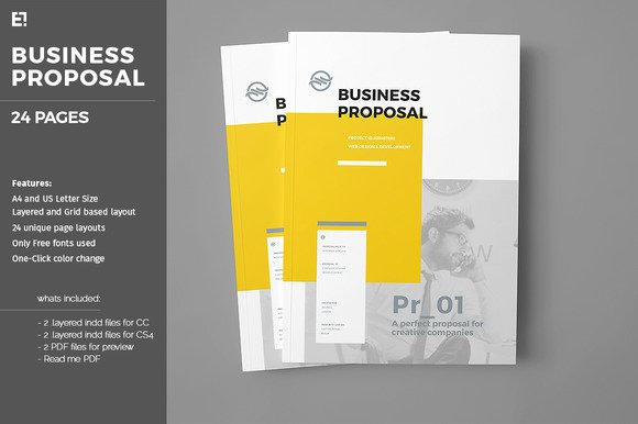 Free Proposal Template Indesign Lovely Free Indesign Proposal Templates Designtube Creative
