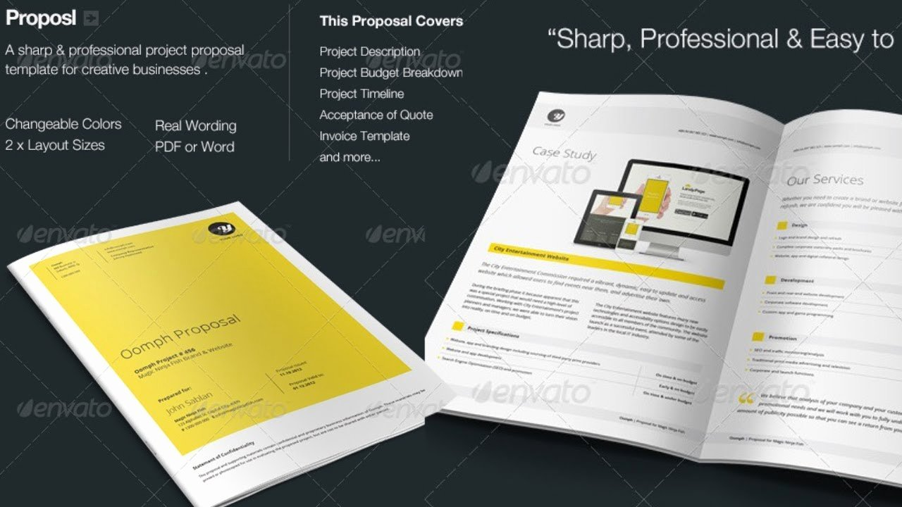 Free Proposal Template Indesign Lovely Proposal Shop Template Free Download
