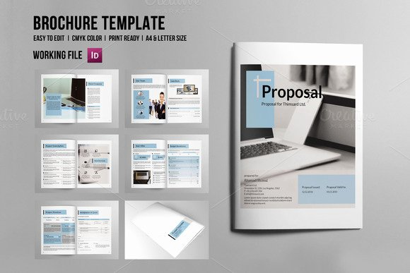 Free Proposal Template Indesign Luxury Free Indesign Proposal Templates Designtube Creative