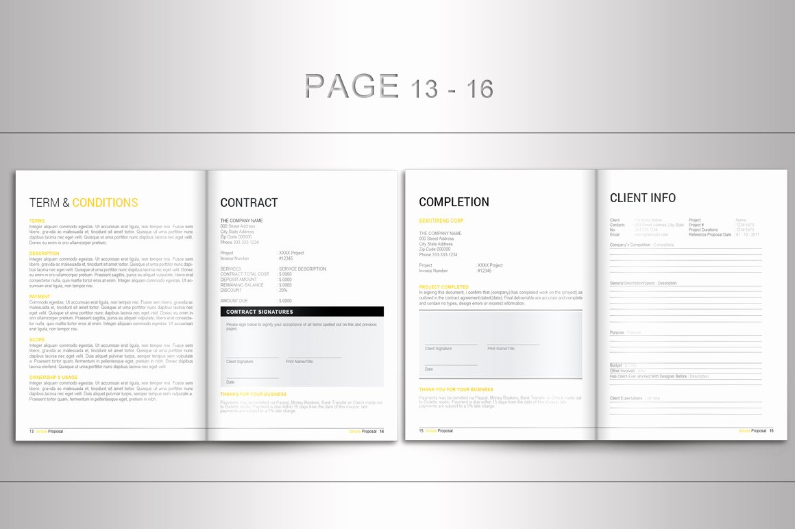 free proposal template indesign for indesign proposal template brochure templates on