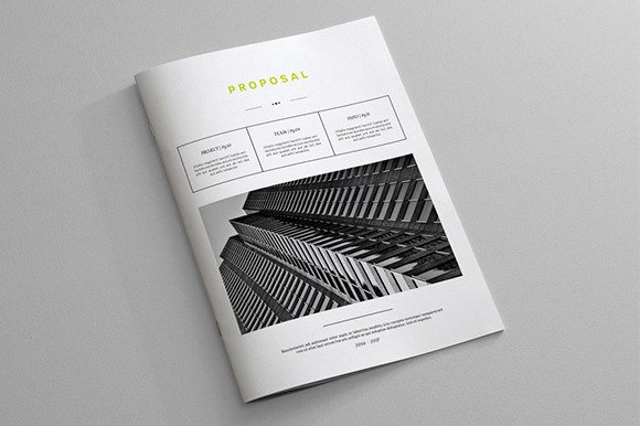 Free Proposal Template Indesign New Indesign Business Proposal Template Brochure Templates