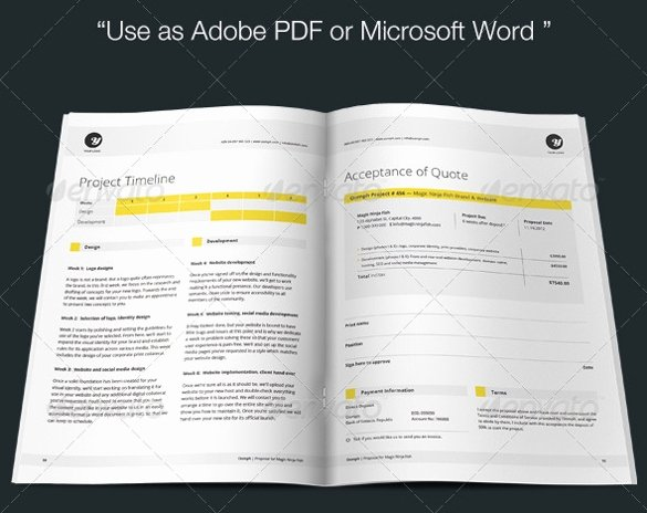 Free Proposal Template Indesign Unique 28 Free Proposal Templates Microsoft Word format Download
