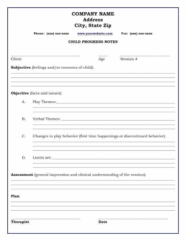 Free Psychotherapy Progress Note Template Best Of soap Note Template How to Write Patient Notes Briefing