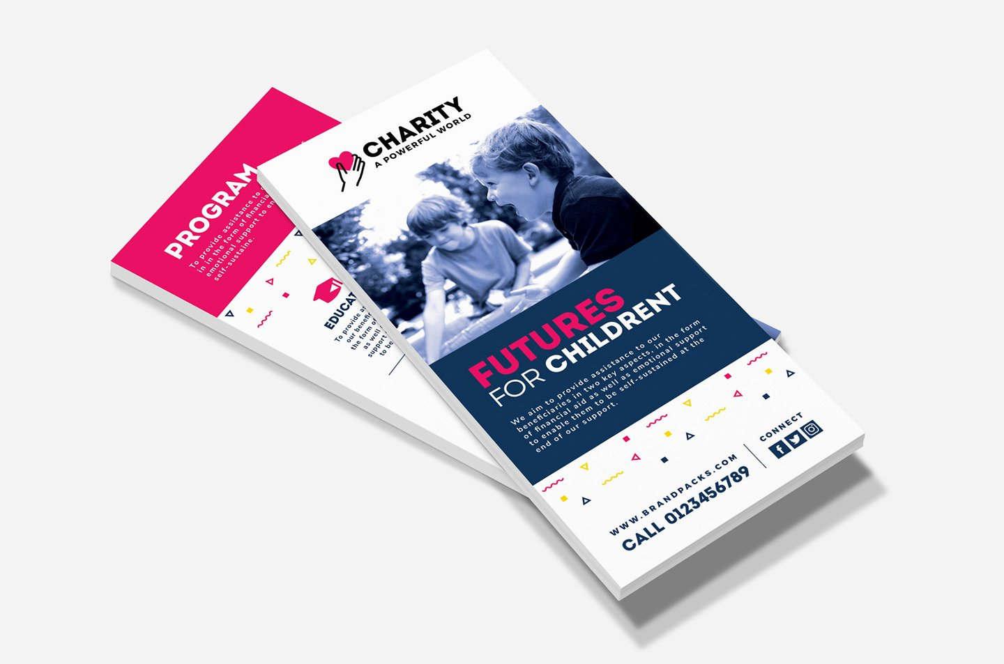 Free Rack Card Template Elegant Free Charity Rack Card Template for Shop