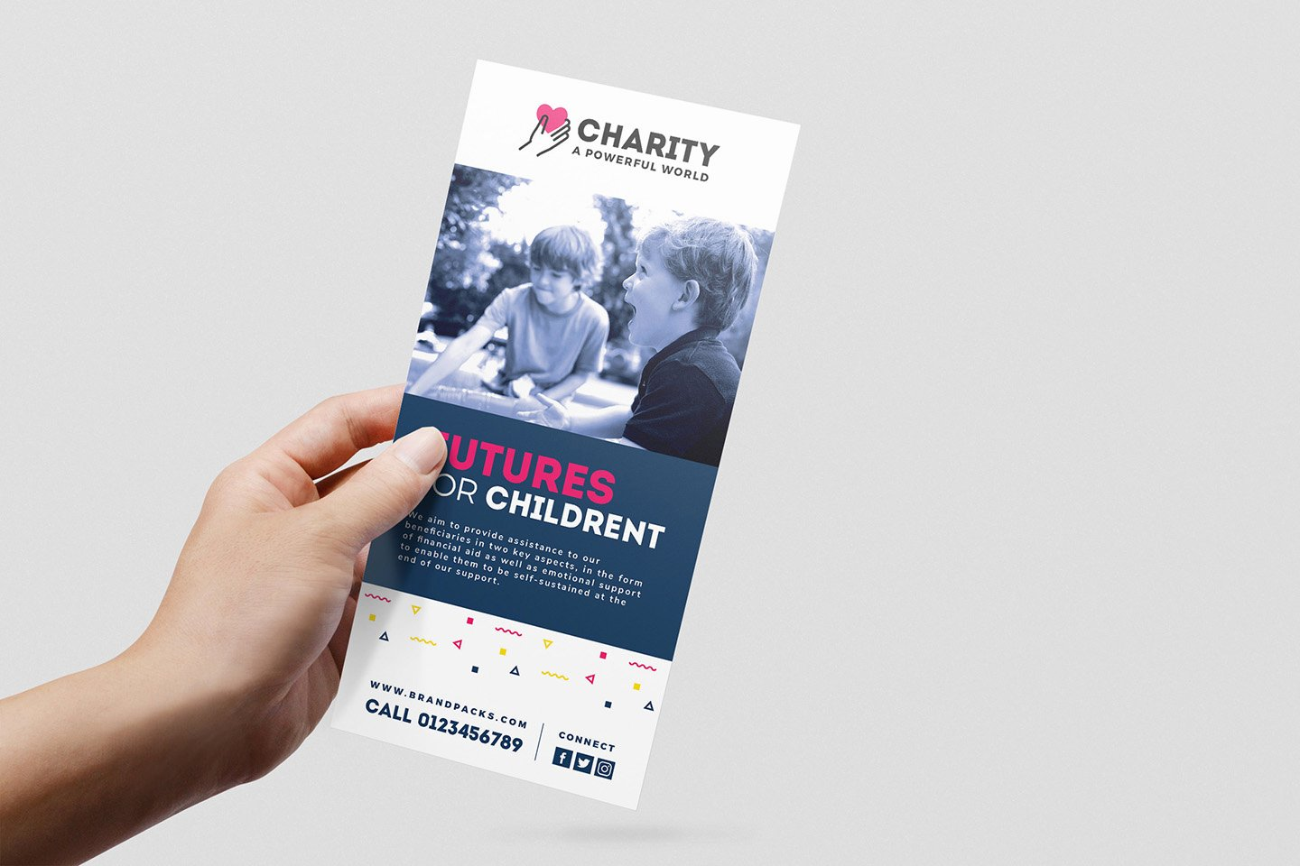 Free Rack Card Template Fresh Free Charity Rack Card Template for Shop