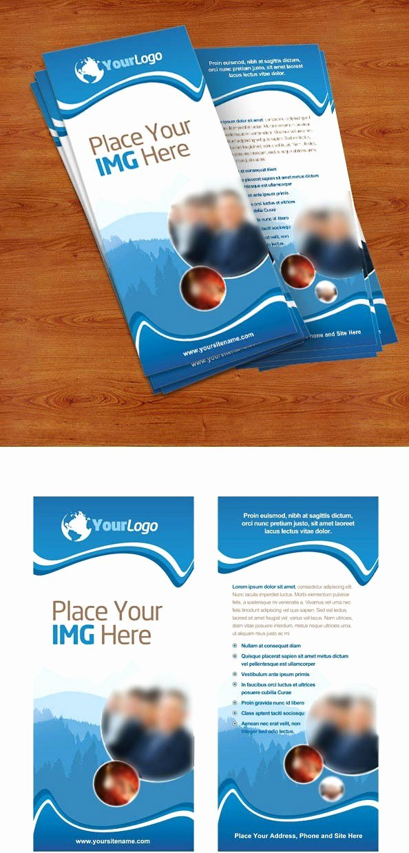 Free Rack Card Template Inspirational Rack Card Psd Template Free Psd Files