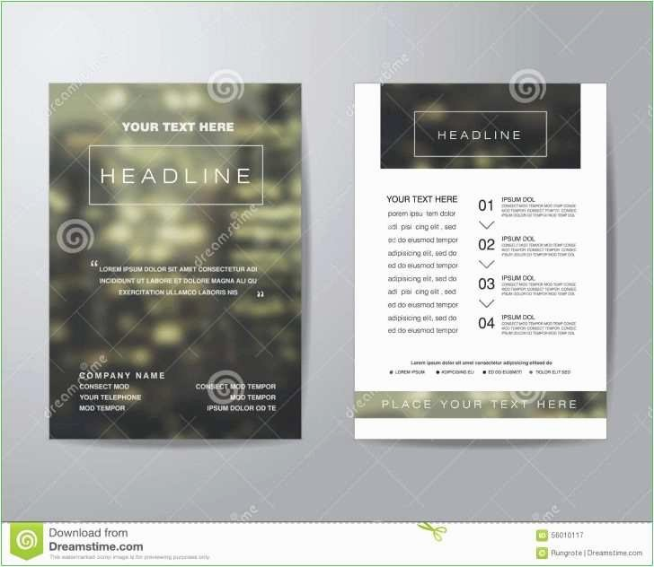 Free Rack Card Template Lovely 92 Free Rack Card Template 4x9 Rack Card Brochure
