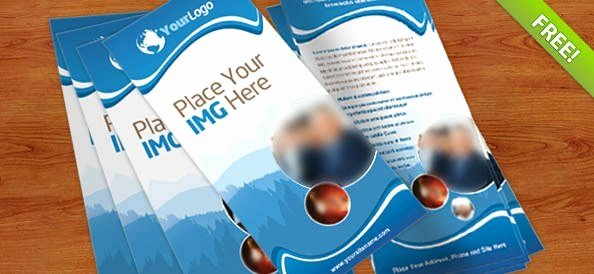 Free Rack Card Template New 40 Best Free Psd Print Templates Free Psd Files