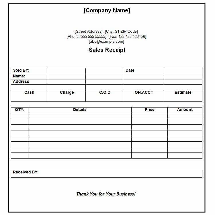 Free Receipt Template Pdf Beautiful 40 Payment Receipt Templates Doc Pdf