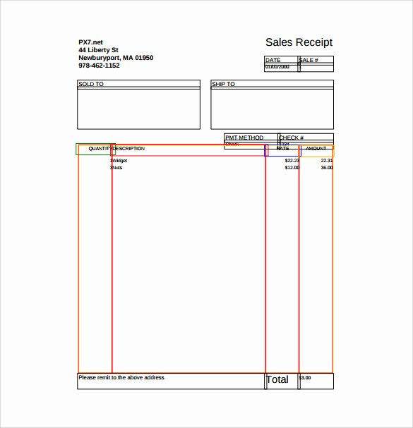 Free Receipt Template Pdf Inspirational 18 Sales Receipt Template Download for Free