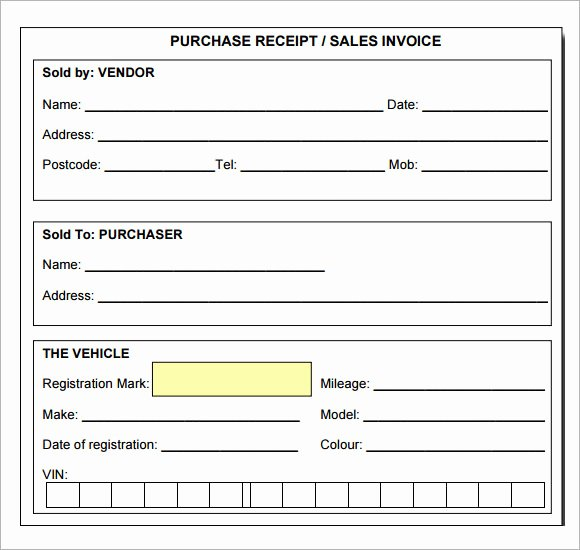 Free Receipt Template Pdf New 7 Sample Receipt Templates to Download
