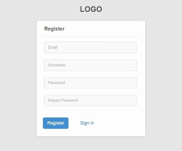 Free Registration form Template Beautiful 15 Best PHP Registration form Templates Free & Premium
