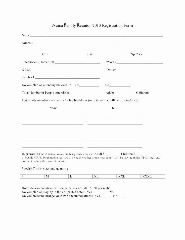 Free Registration form Template Elegant Online Registration form Template