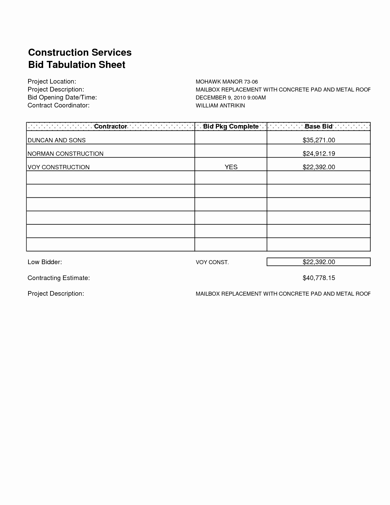 Free Roofing Proposal Template Awesome Free Roofing Proposal forms Template