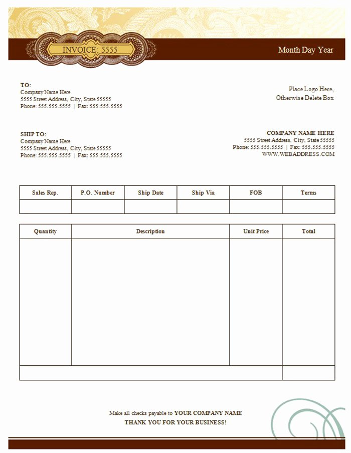 Free Sales Invoice Template Beautiful 15 Best Invoice Templates to Create Your First Invoice