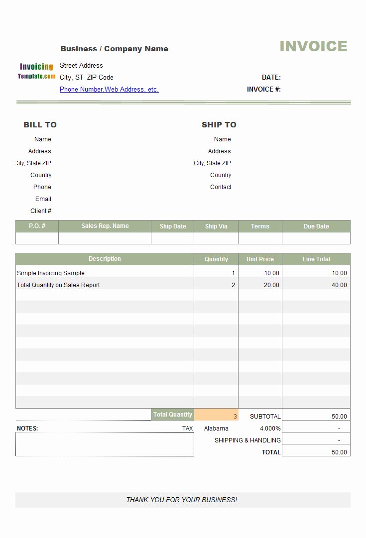 Free Sales Invoice Template Beautiful Book Store Invoice Template
