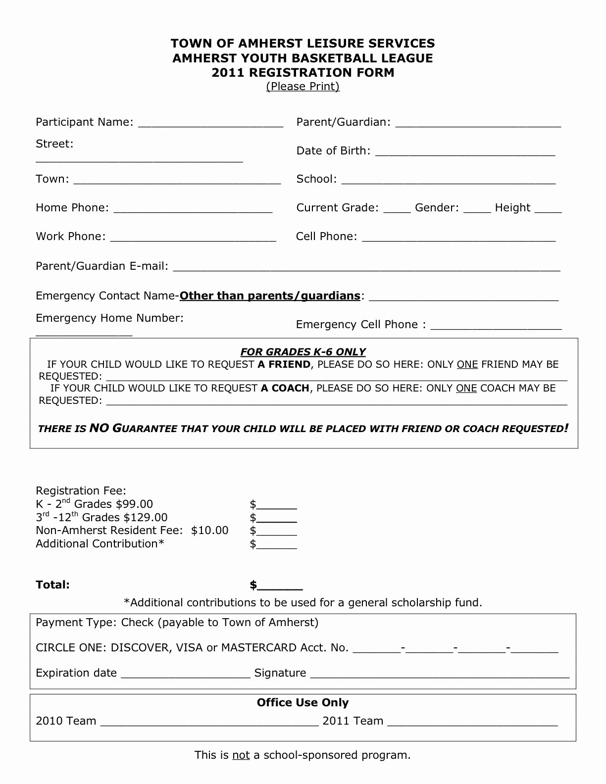 Free Sports Registration form Template Fresh Download Registration form for Sports Template Free
