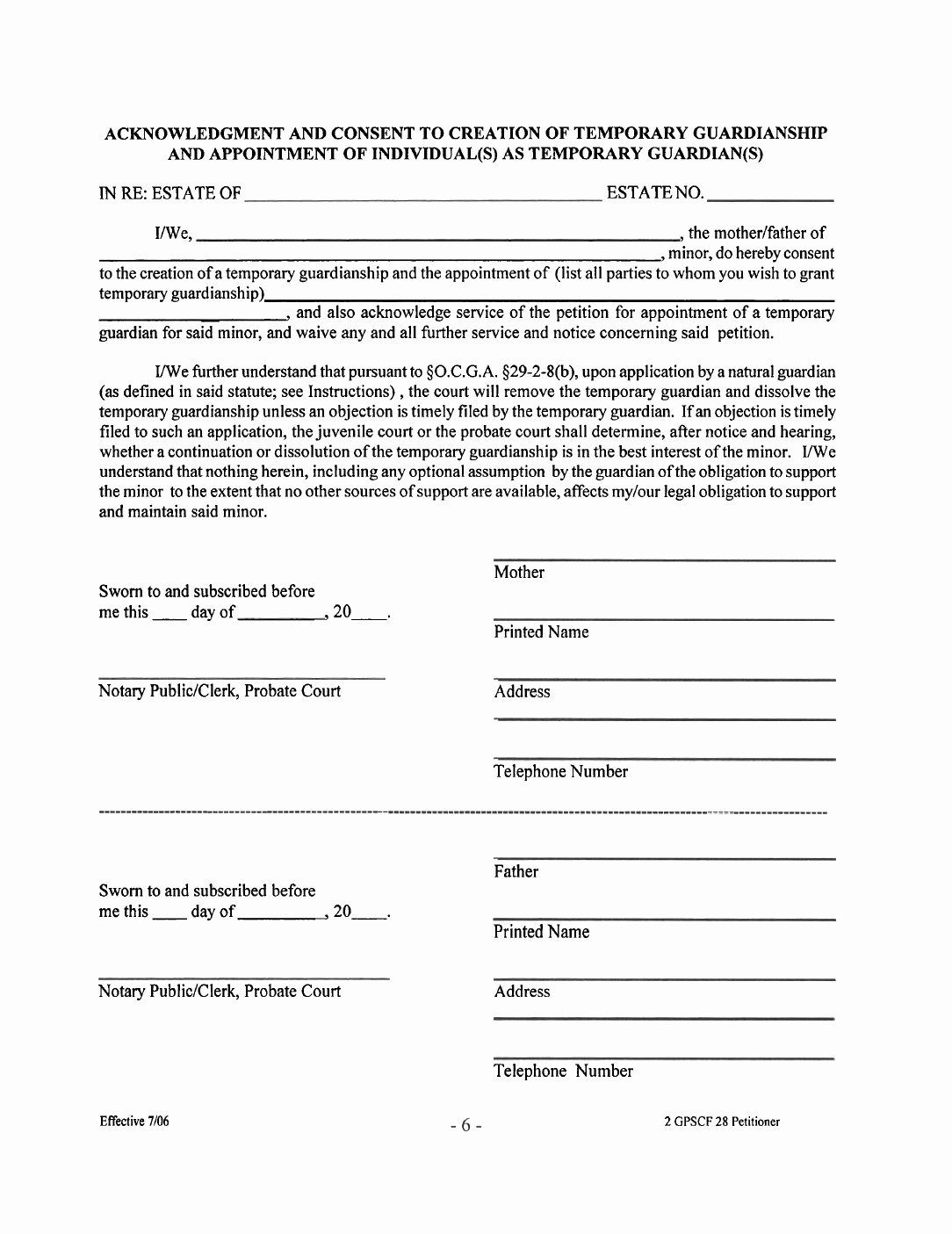 Free Temporary Guardianship form Template Beautiful Free Temporary Guardianship Letter Template Collection
